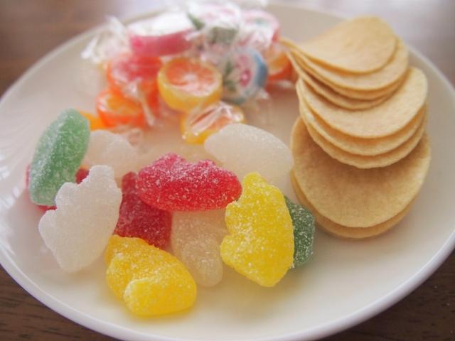 甘い物としょっぱい物